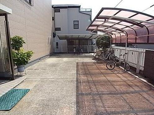 マンション(建物一部)-神戸市東灘区甲南町4丁目 屋根付きの自転車置き場