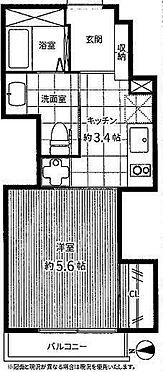マンション(建物一部)-台東区谷中5丁目 間取り