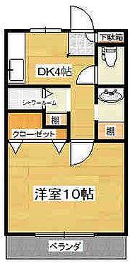 マンション(建物一部)-大阪市大正区北恩加島1丁目 間取り