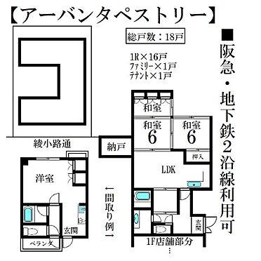一棟マンション-京都市下京区矢田町 間取り