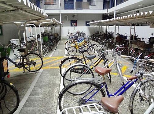 マンション(建物一部)-大阪市城東区今福東2丁目 屋根付きの駐輪スペース