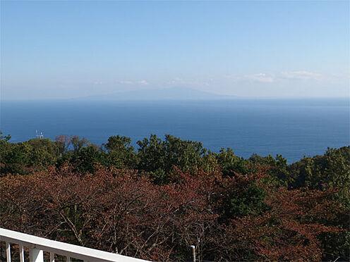 中古一戸建て-伊東市赤沢 【眺望】 この眺望です!伊豆大島・伊豆諸島を一望します