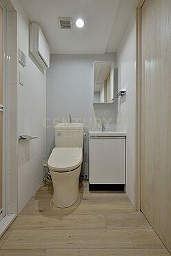 マンション(建物全部)-大田区大森北5丁目 トイレ・独立洗面化粧台(401号室)