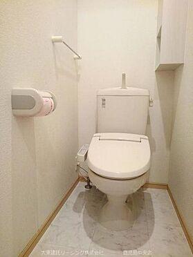 アパート-荒尾市増永 102号室トイレ
