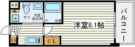 マンション(建物一部)-大阪市都島区都島北通1丁目 間取り