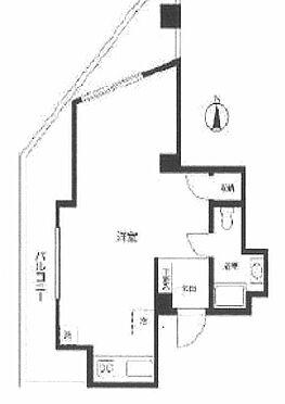マンション(建物一部)-中野区中央3丁目 間取り