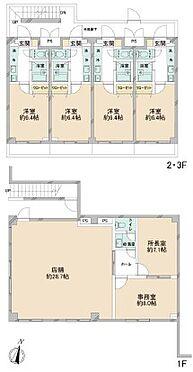 マンション(建物全部)-横浜市西区境之谷 間取り