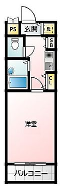 マンション(建物一部)-大阪市西区本田4丁目 2点セパレートで清潔感あり。