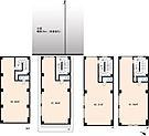地下1階付3階建て、全4戸