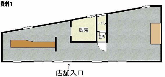 店舗(建物全部)-仙台市若林区六丁の目中町 間取り