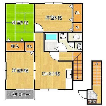 アパート-北九州市若松区用勺町 201号室です。現況を優先します。