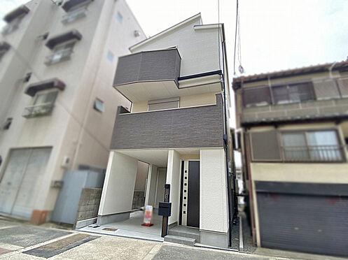 新築一戸建て-大阪市平野区背戸口3丁目 外観