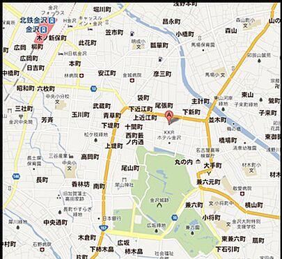 マンション(建物一部)-金沢市尾張町1丁目 地図
