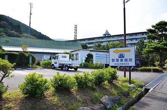 土地-熱海市上多賀 熱海自然郷の管理事務所です。別荘地の入口にあります。