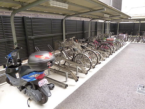 マンション(建物一部)-川口市芝新町 屋根付き駐輪場
