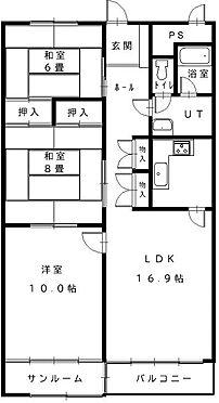 マンション(建物一部)-札幌市中央区南十三条西1丁目 間取り