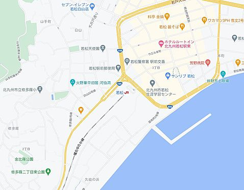 マンション(建物一部)-北九州市若松区修多羅2丁目 地図