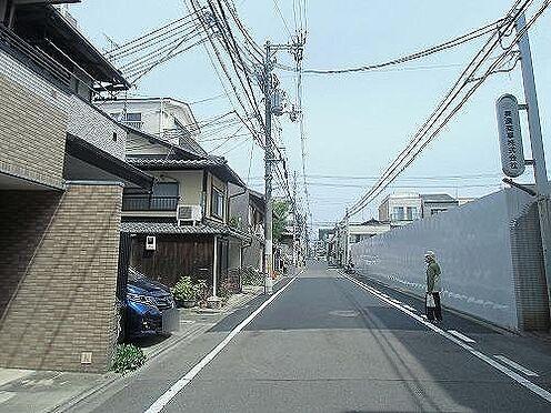 一棟マンション-京都市中京区薬師町 前面道路
