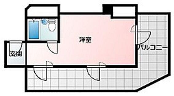 事務所(建物一部)-大阪市淀川区西中島5丁目 広々としたバルコニー