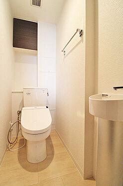 中古マンション-中野区新井5丁目 トイレ
