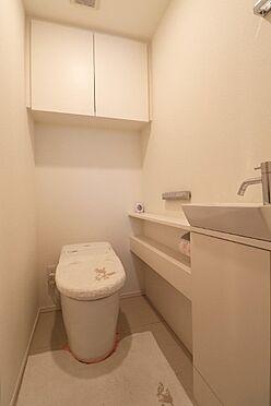 中古マンション-中央区築地7丁目 手洗付トイレ