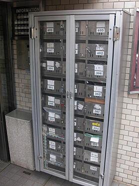 マンション(建物一部)-世田谷区砧6丁目 郵便ボックスの様子です。