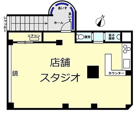 店舗事務所(建物一部)-横浜市鶴見区生麦5丁目 間取り