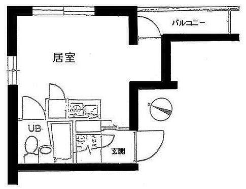 マンション(建物一部)-横浜市磯子区上町 間取り