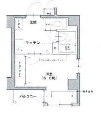 マンション(建物一部)-江東区北砂6丁目 間取り
