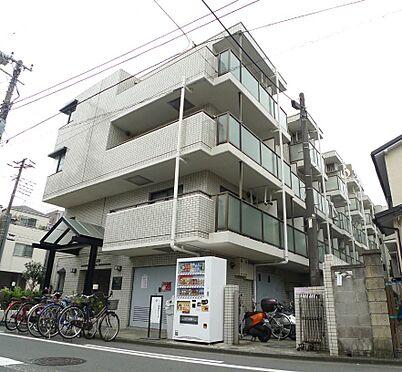 マンション(建物一部)-川崎市川崎区大島1丁目 タイル貼りの外観