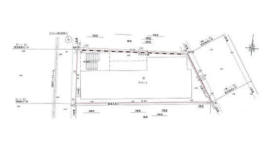 アパート-足立区梅田7丁目 字型