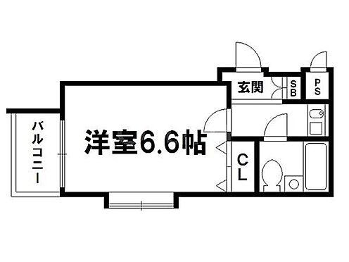 マンション(建物一部)-京都市上京区森之木町 間取り