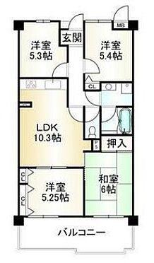 マンション(建物一部)-神戸市西区池上1丁目 広々4LDK