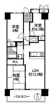マンション(建物一部)-枚方市長尾谷町2丁目 間取り
