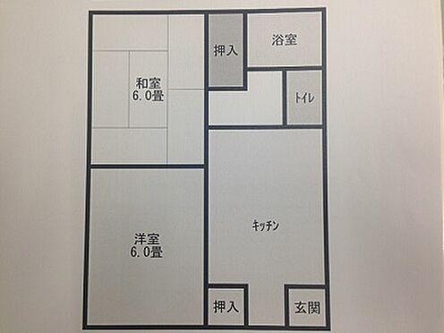 アパート-いわき市内郷宮町宮沢61番 間取り