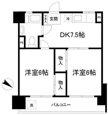 マンション(建物一部)-松戸市小山 間取り