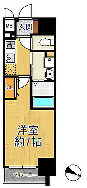 マンション(建物一部)-大阪市港区波除2丁目 間取り