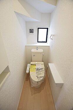 新築一戸建て-宮城郡利府町加瀬字野中沢 トイレ
