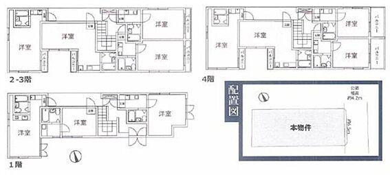 一棟マンション-豊島区高松1丁目 間取り