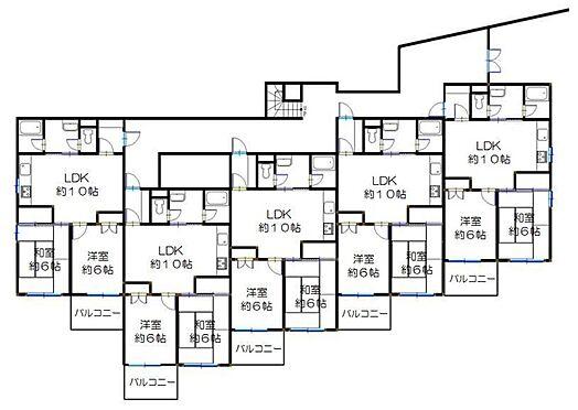 マンション(建物全部)-さいたま市北区土呂町1丁目 間取り図