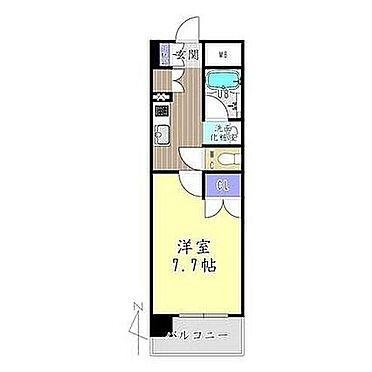 マンション(建物一部)-京都市中京区壬生御所ノ内町 間取り