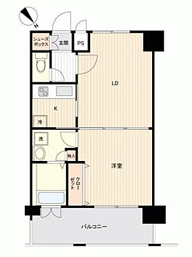 マンション(建物一部)-福岡市博多区中洲5丁目 間取り