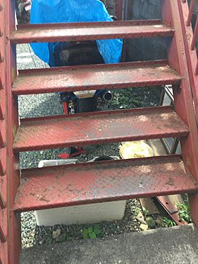 アパート-磐田市西貝塚 階段