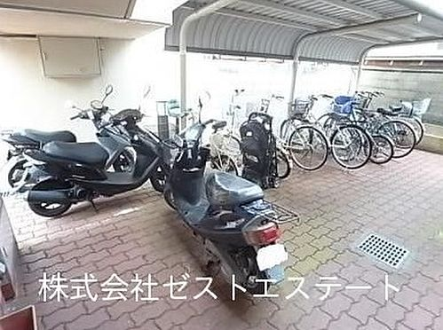 マンション(建物一部)-神戸市垂水区城が山2丁目 屋根付きの駐輪スペース
