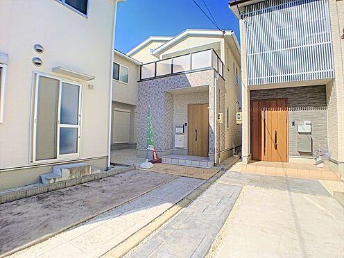中古一戸建て-名古屋市守山区鳥羽見3丁目 南向きワイドバルコニー。
