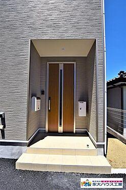 新築一戸建て-多賀城市大代4丁目 玄関
