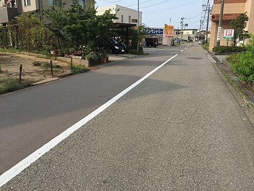 アパート-能美市大成町 前面道路