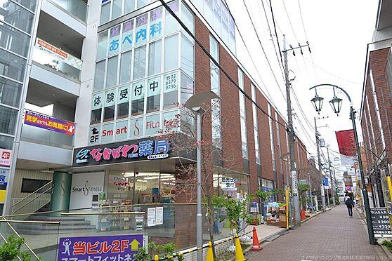 土地-世田谷区八幡山1丁目 なかがわ薬局、あべ内科