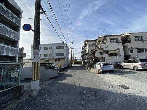 一棟マンション-京都市南区上鳥羽八王神町 前面道路