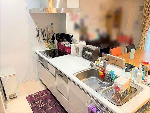 中古マンション-小牧市小牧3丁目 うれしい食洗機付きのキッチン。